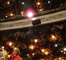 The hanging rooftop at the Winter Garden Theatre by MarianBendeth