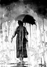 rain by Loui  Jover