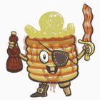 Pancake Pirate by herky
