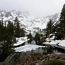 Upper Sardine Lake ~ Sierra Buttes by Patty Boyte