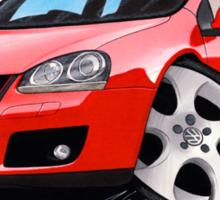 VW Golf GTi (Mk5) Red Sticker