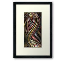 Metallic Rainbow Framed Print