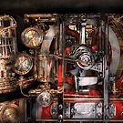Steampunk - Check the gauges  by Mike  Savad
