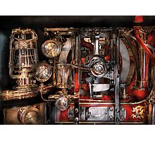 Steampunk - Check the gauges  Photographic Print