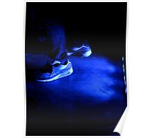 Nike in blue  Poster