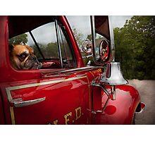 Fireman - Mack  Photographic Print