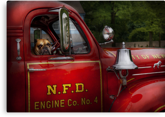 Fireman - This is my truck by Mike  Savad