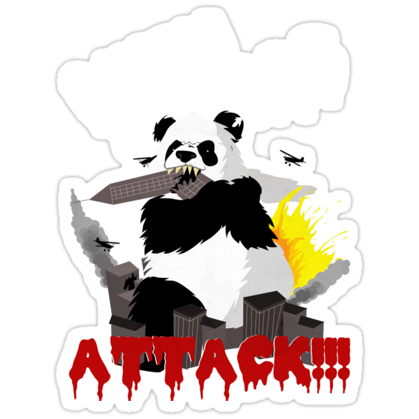 When Pandas Attack! by CrosbyDesign