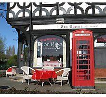 ENGLISH TEA SHOP Photographic Print