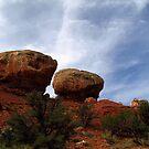 Twin Rocks by Aaron Baker
