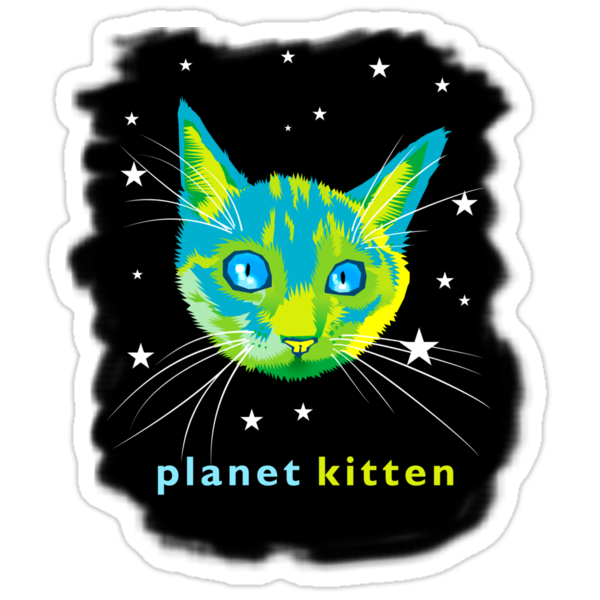 Planet Kitten by Matt Mawson