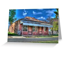 Bryant's Butcher's Shop, Hill End, NSW, Australia Greeting Card