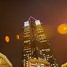 Skyscraper lightshow by robigeehk