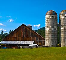 Sanders County (Montana) Farm by Bryan D. Spellman