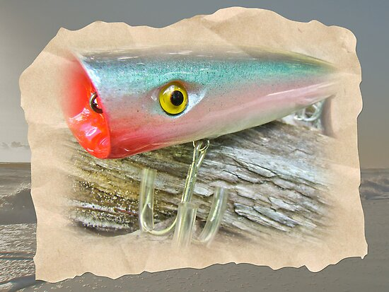 AJS Saltwater Popper Fishing Lure by MotherNature