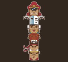 Street Fighter 2 Totem by Bamboota