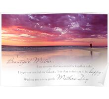 Mothers Day (Card From Child To Mother) Poster
