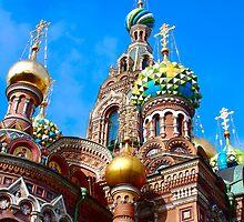 Russian traditional church by Eduard Isakov