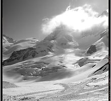 Jungfrau scene swiss alps by grorr76