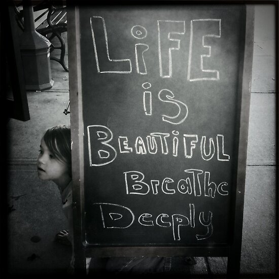 Life is Beautiful by SheSmiles