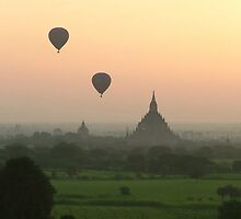 Balloons at Bagan by SerenaB