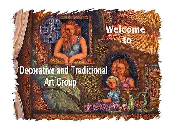 Banner to welcome new members by Madalena Lobao-Tello