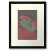 Neon Fanta Framed Print