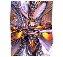 ludicrous Voyage Abstract Poster