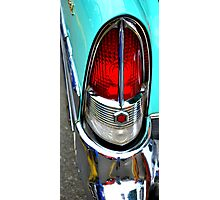 """""""Classic Packard Taillight"""" Photographic Print"""