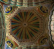 The ceiling of Tanjore Palace by prabhakaran