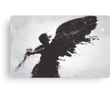 When Forever Comes Crashing Canvas Print