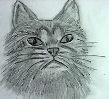 Justa Cat by Norma Jean Lipert