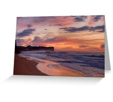 Just Another Day In Paradise - Warriewood Beach, Sydney - The HDR Experience Greeting Card