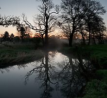 River Brett dawn by Christopher Cullen