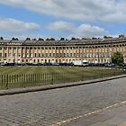 Royal Crescent, Bath by Mark Bird