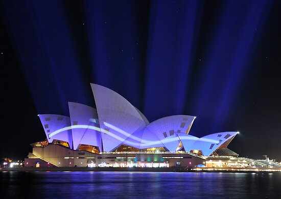 Our Beaming Opera House by Ian Berry