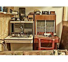 The Telephone Exchange Photographic Print