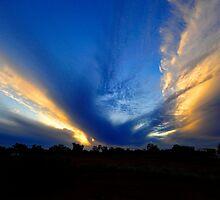 Flaming Sky   by Alwyn Simple