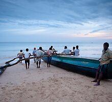 Sri Lankan fishermen by Swirley