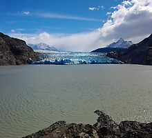 Grey Glacier - Torres Del Paine National Park, Chile by Phil McComiskey