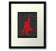 """""""The Year Of The Monkey"""" Framed Print"""
