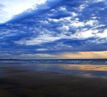 Cloudy Beach by patrick2504