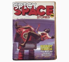 Spicy Space Stories Fake Pulp Cover by mdkgraphics