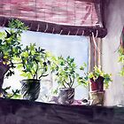 Along My Sunny Windowsill by Genevieve  Cseh