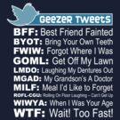 Geezer Tweets by LTDesignStudio