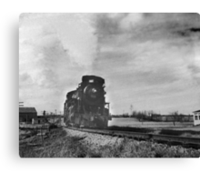 Another Iron Horse Canvas Print