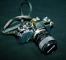 My first SLR camera by MarthaBurns