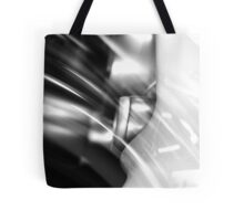 Curved point of view ... Tote Bag