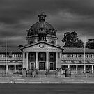Colonial Elegance- B&amp;W (45 Exposure HDR Panorama) - Bathurst Court House c1880, Bathurst, NSW Australia - The HDR Experience by Philip Johnson