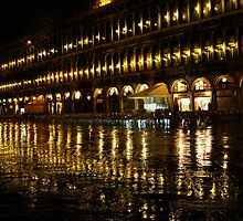 St Marks Square - Venice by Rob Foster